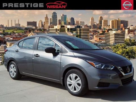 New 2020 Nissan Versa S CVT FWD 4dr Car